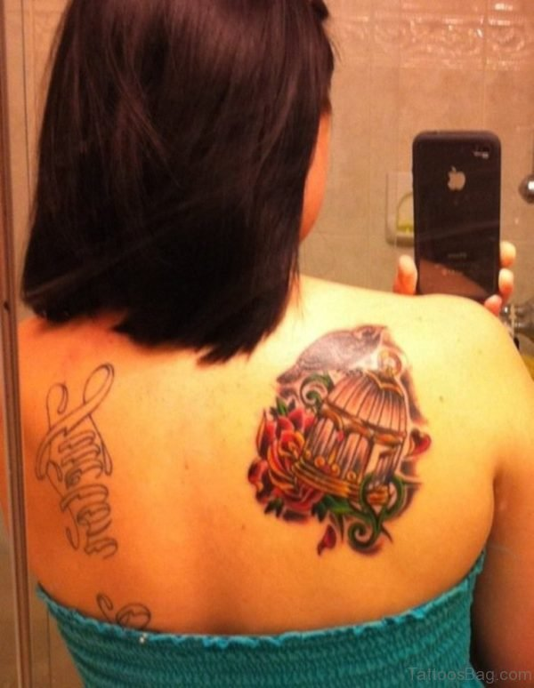 Bird And Cage Tattoo