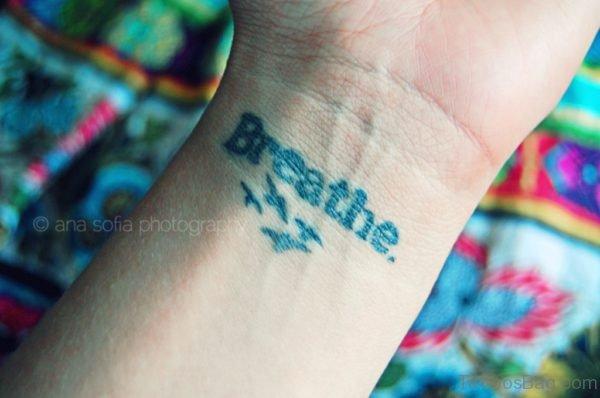 Birds And Breathe Tattoo