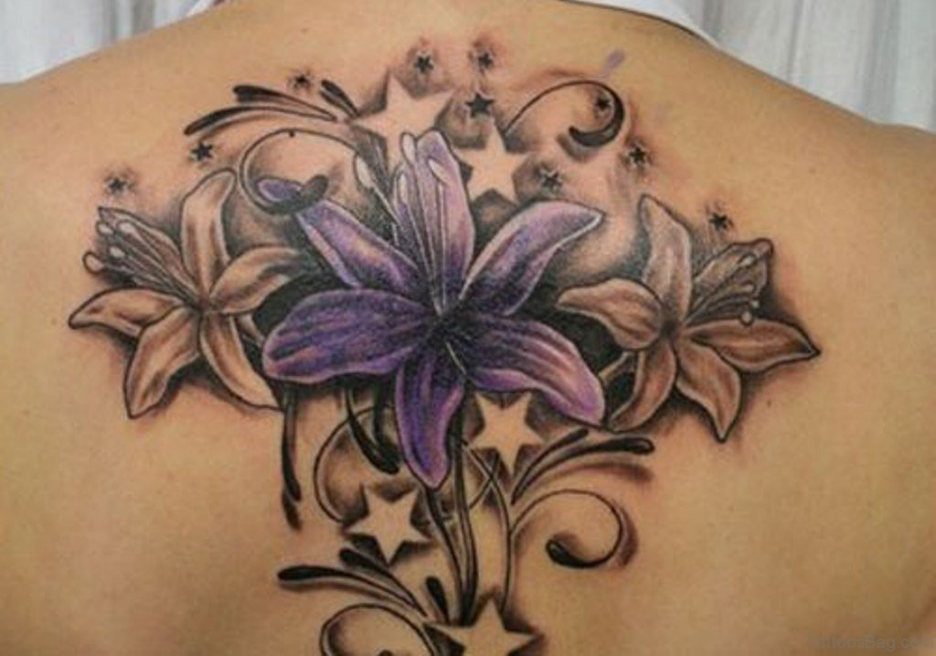 26e098235 80 Attractive Lily Tattoos