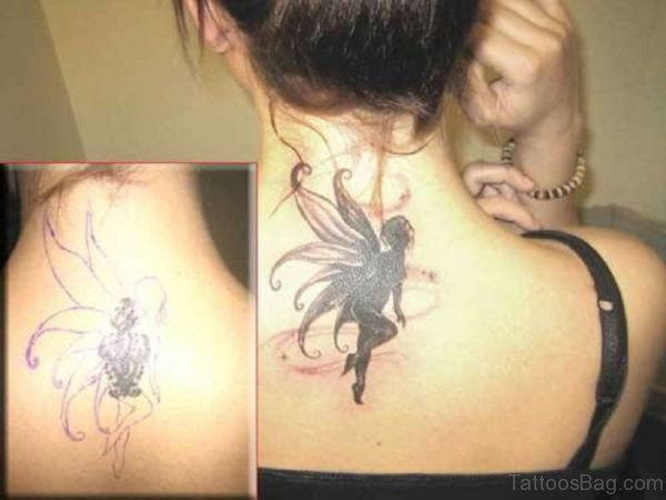 Black Angel Tattoo