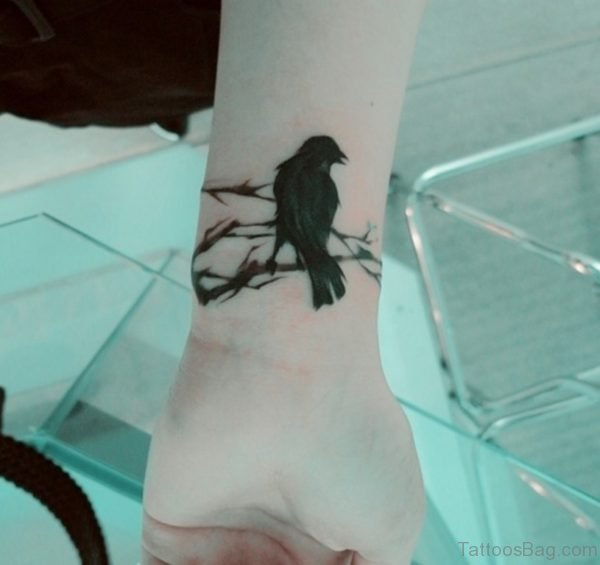 Black Bird Tattoo