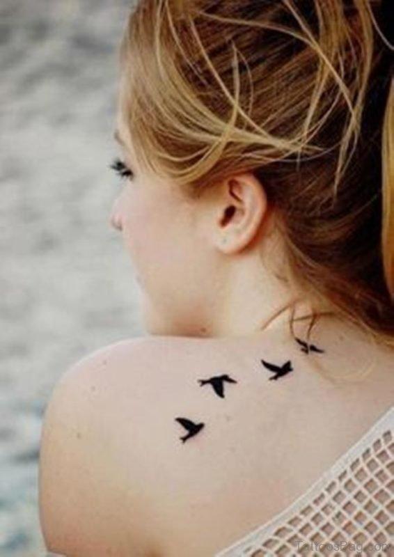 Black Birds Tattoo