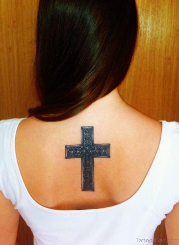 Black Cross Tattoo