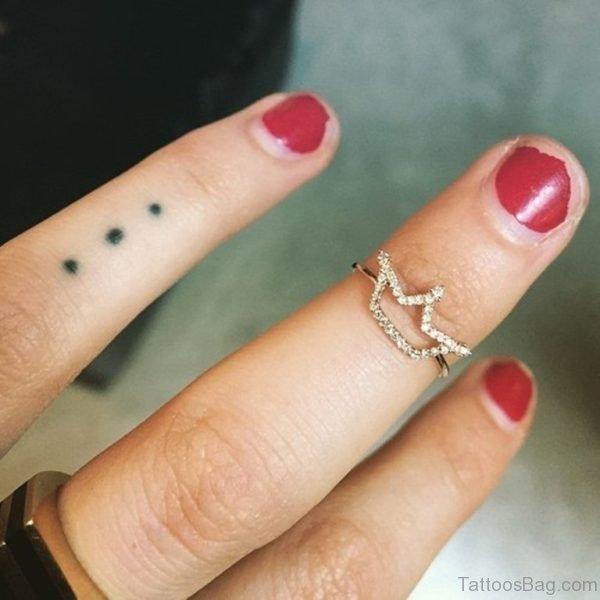 Black Dots Tattoo