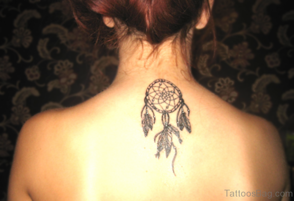Black Dreamcatcher Tattoo