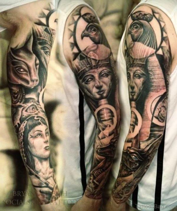 Black Egyptian Tattoo
