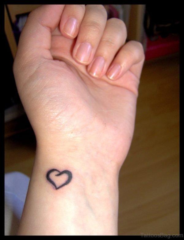Black Outline Tattoo