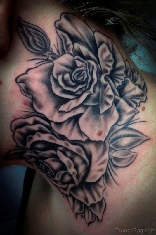Black Roses Tattoo Design
