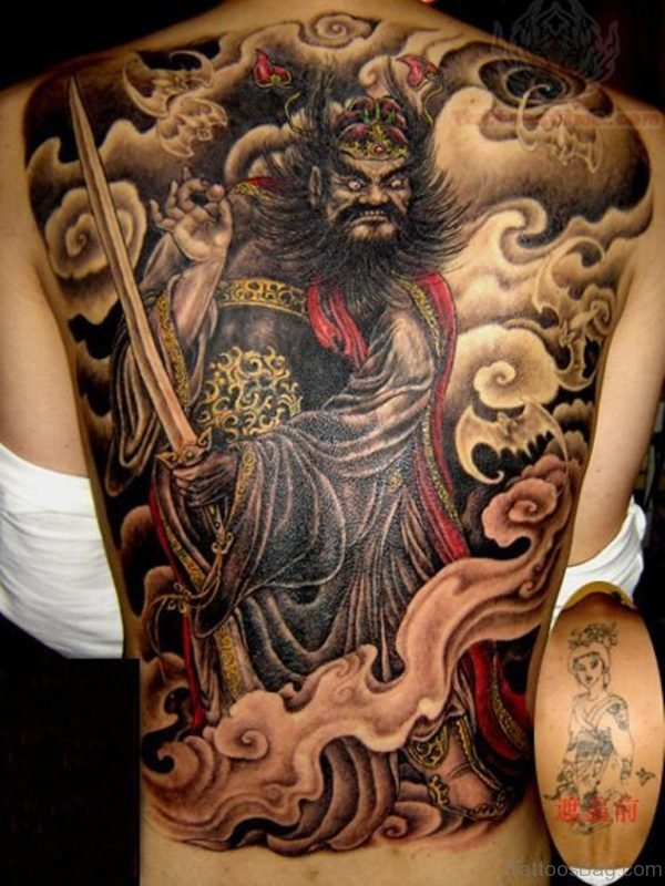 Black Samurai Tattoo
