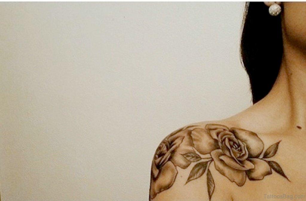 c4d5029aa 57 Pleasant Black Rose Tattoo Designs