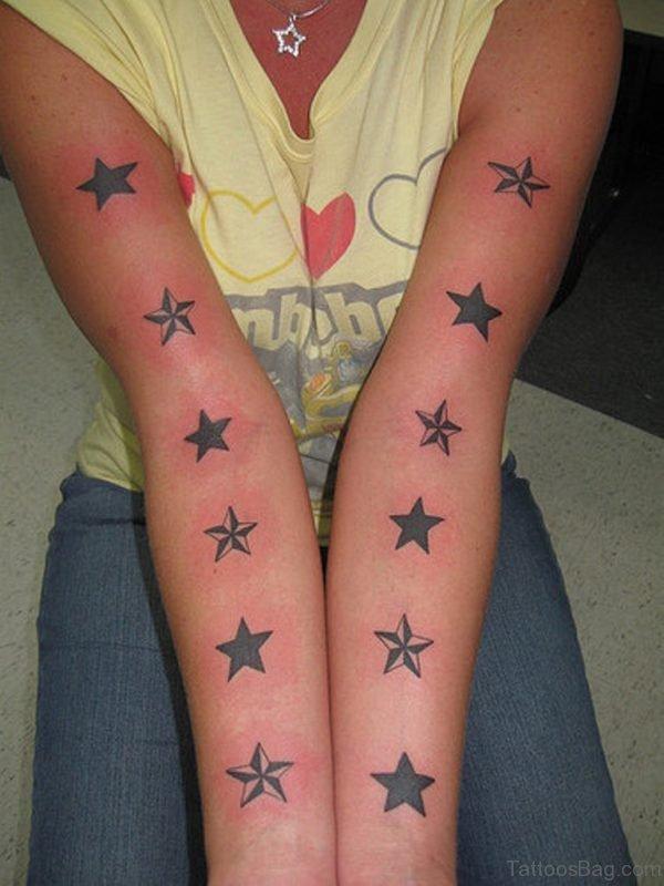 Black Stars Tattoo