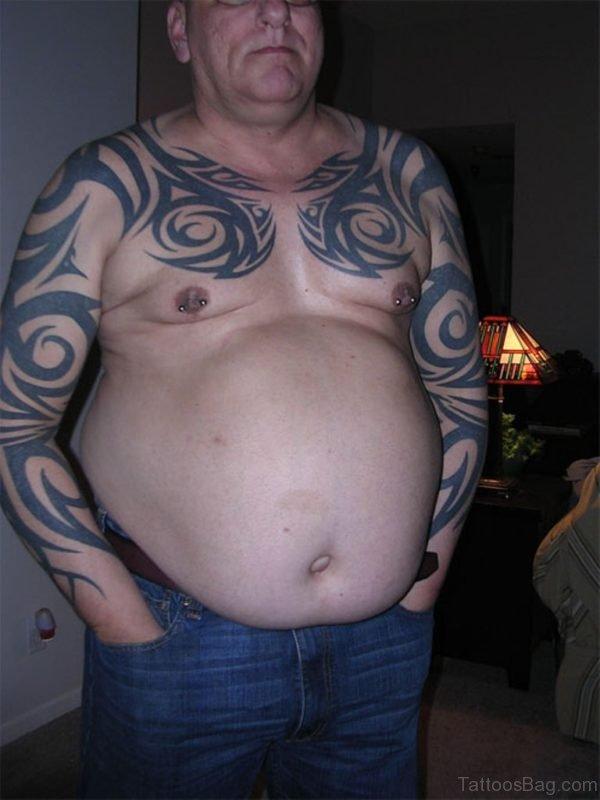 Black Tribal Tattoo Design
