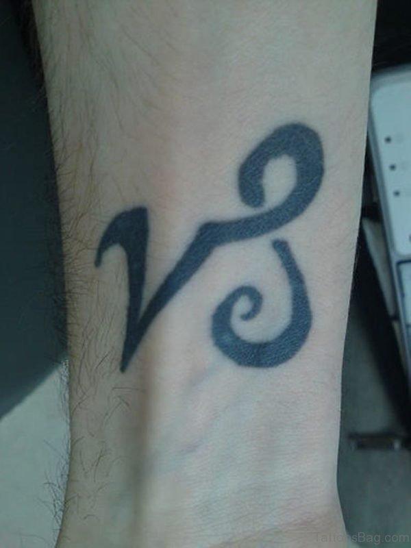 Black Zodiac Tattoo