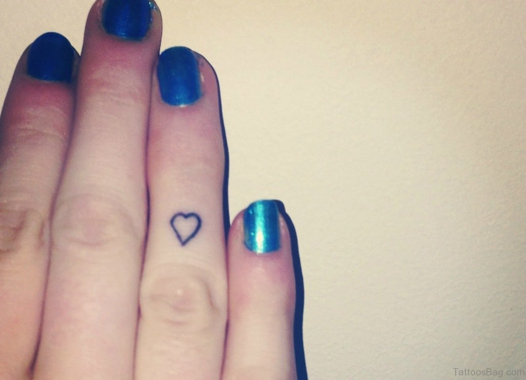 36 adorable fingers tattoos for best friends for Finger tattoo care instructions
