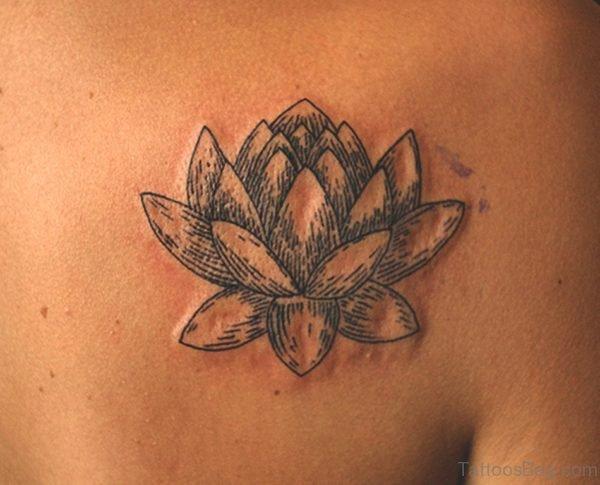 Lotus Tattoo On Shoulder