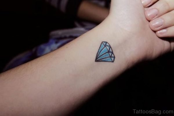 Blue Diamond Tattoo