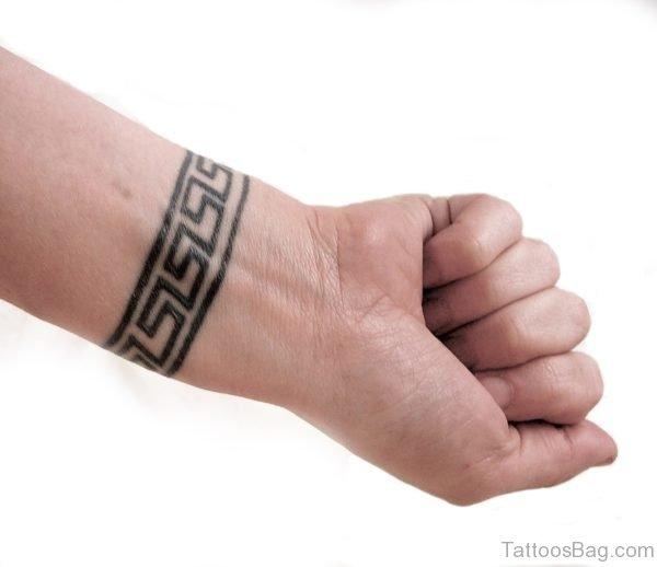 Bracelet Tattoo On  Wrist