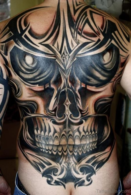 Brilliant Skull Tattoo