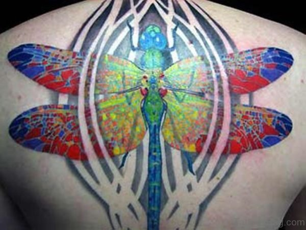 Brilliant Dragonfly Tattoo