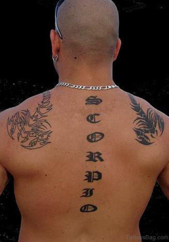 Brilliant Scorpion Tattoo