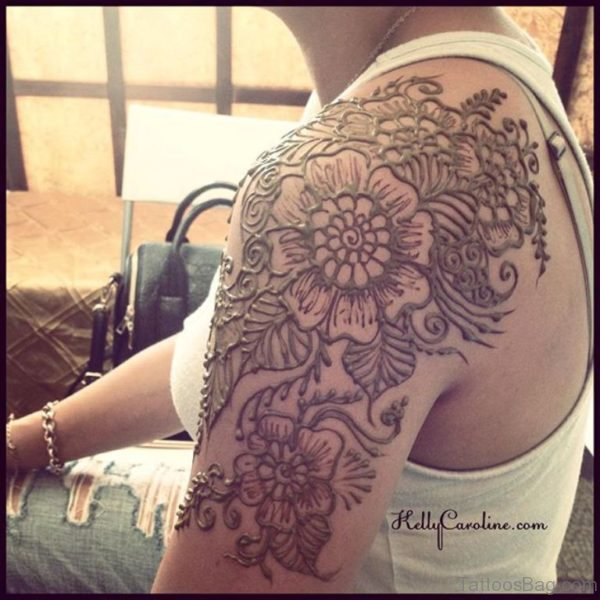 Broad Henna Tattoo