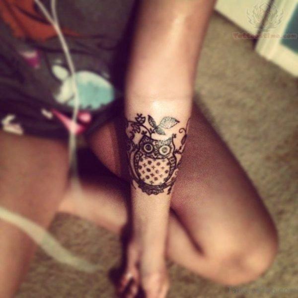 Broken Owl Tattoo