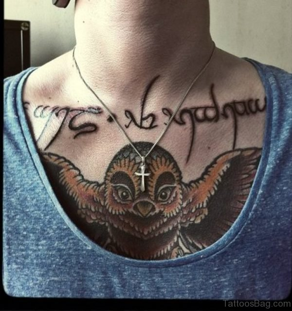 Brown Owl Tattoo