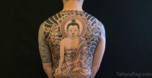 Buddha Back Tattoo Image