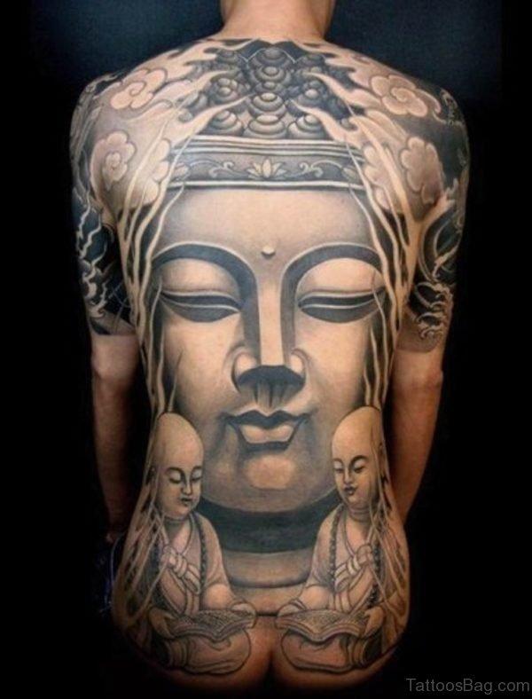 Buddha Tattoo On Full Back