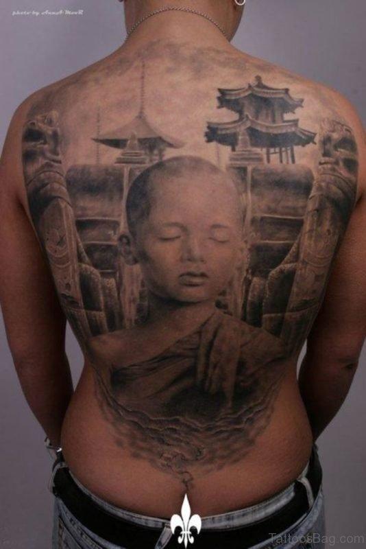Buddhist Monk Tattoo