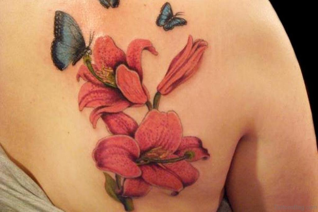 80 Attractive Lily Tattoos