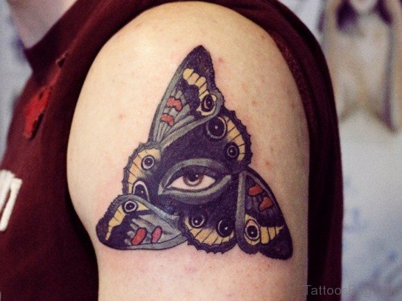 Butterfly Eye Tattoo