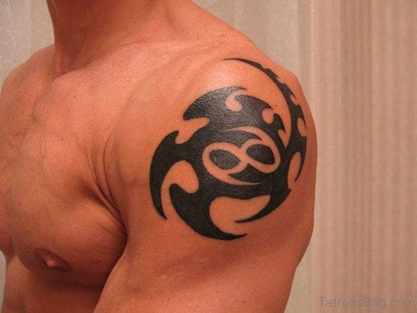 Cancer Zodiac Sign Tattoo