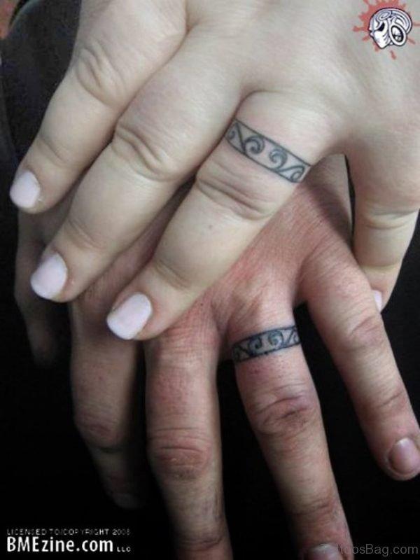 Celtic Finger Tattoo