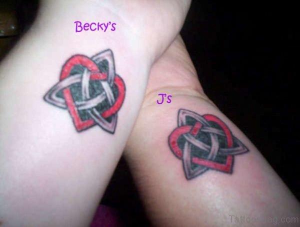 Celtic Knot Tattoo On Wrist