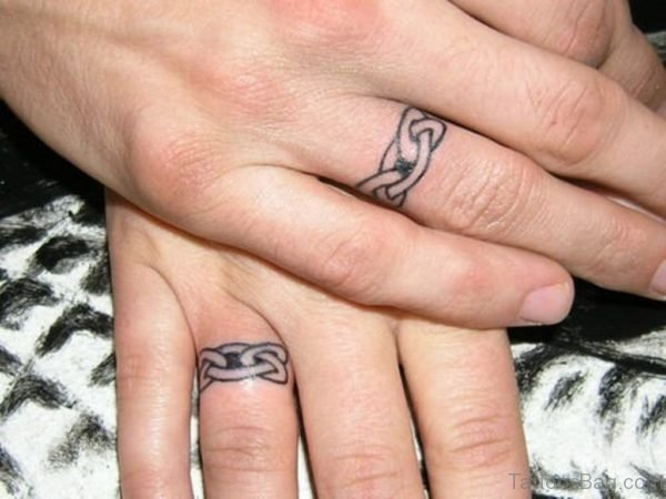 Celtic Ring Finger Tattoo