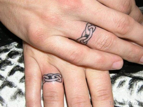 Celtic Tattoo Design On Finger