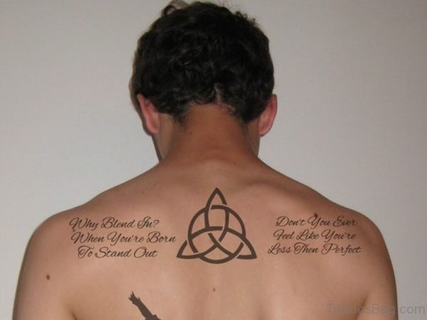 Celtic Wording Tattoo