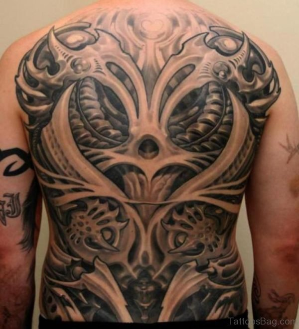 Classic Biomechanical Tattoo