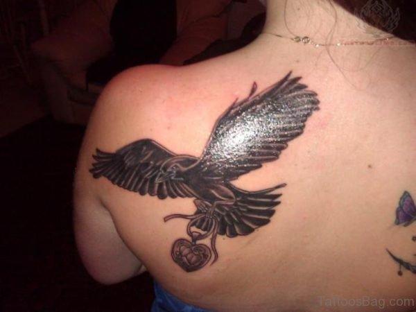 Classic Crow Tattoo