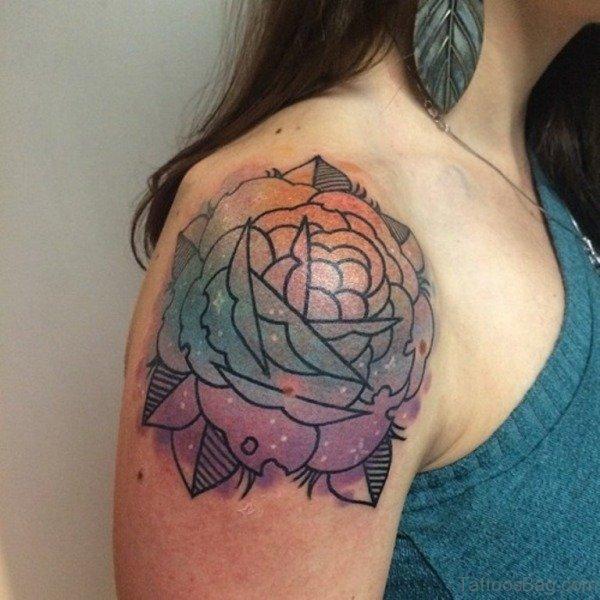 96 superb shoulder tattoos for women for Shoulder tattoos girls