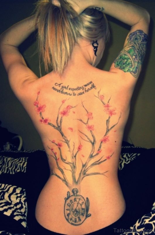 Clock Tree Tattoo