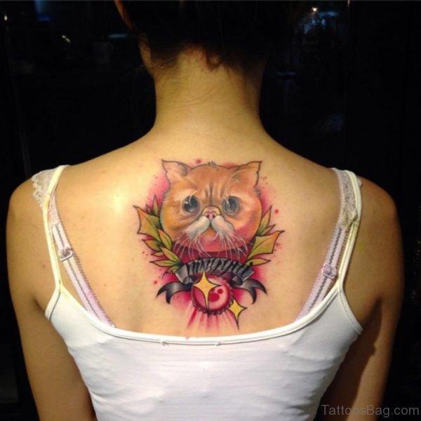 Colored Cat Tattoo Tattoo
