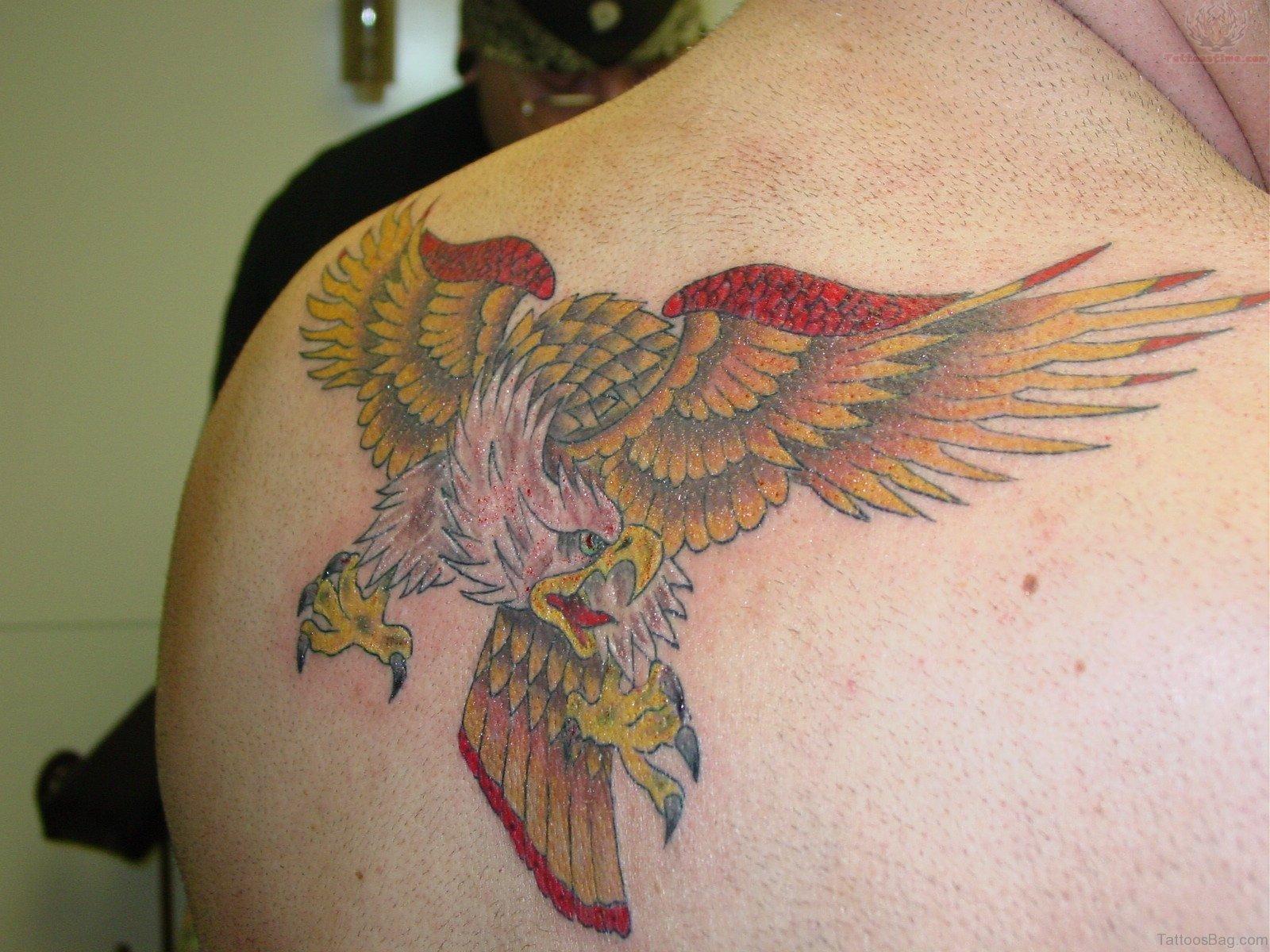 Eagle Back Tattoo 60 Impressive Eagle Ta...
