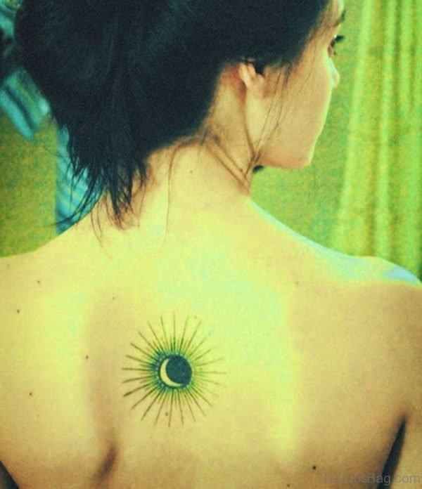 Colored Sun Tattoo