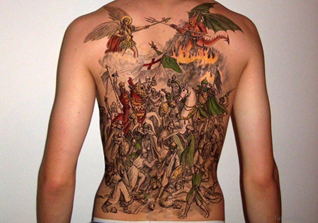 59 alluring viking tattoos for back. Black Bedroom Furniture Sets. Home Design Ideas