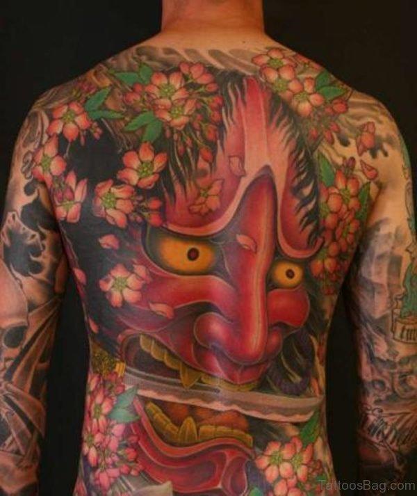 Colorful Devil Tattoo