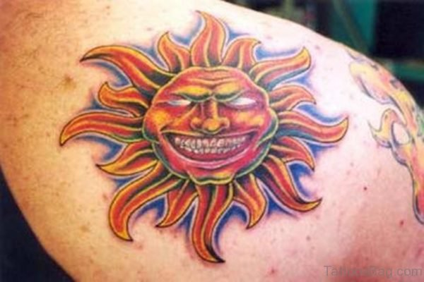 Laughing Sun Tattoo