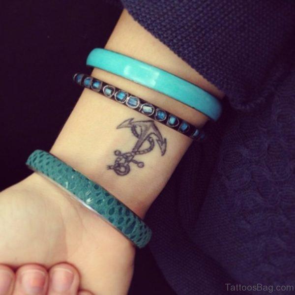 Cool Anchor Tattoo