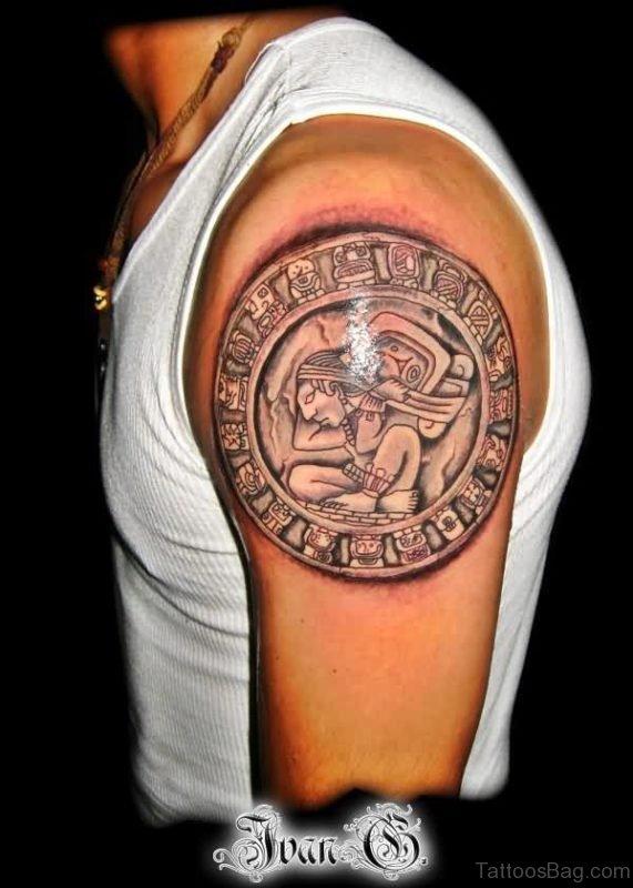 Cool Aztec Tattoo